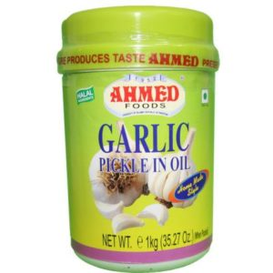 Ahmed Foods Garlic Pickle in Oil 1Kg