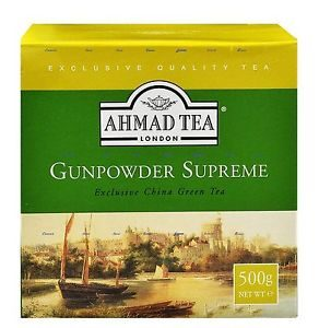 Ahmad Tea Gunpowder Supreme China Green Tea 500g