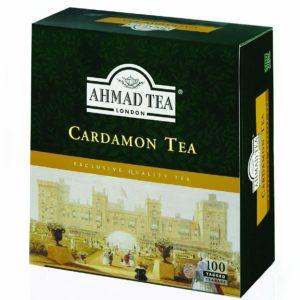 Ahmad Tea Cardamom Tea 100 Tagged Tea Bags