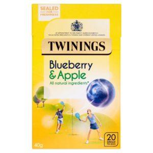 Twinings Blueberry&Apple 20'S Tea 40g