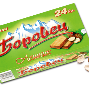 Borovets Wafer with Hazelnut Cream 550g