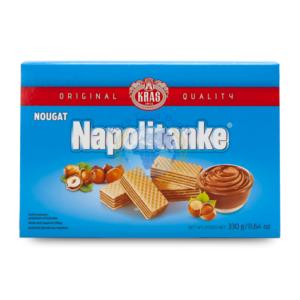 Kras Napolitanke Wafer with Nougat 330g