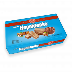 Kras Napolitanke Wafer with Nougat 420g