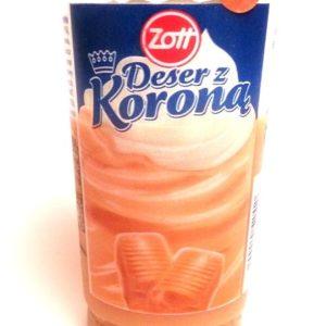 Zott Deser z Koroną Karmelowy 175g