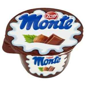 Zott Monte Milk Dessert with Chocolate and Nuts 150g