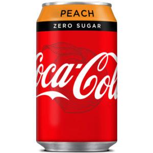 Coca Cola Peach Zero Sugar 330ml