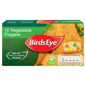 Birds Eye Vegetable Fingers 10pcs