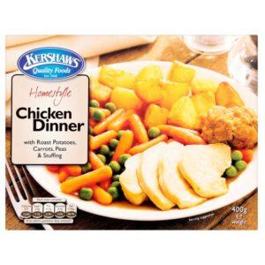 Kershaws Homestyle Chicken Dinner 400g
