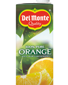 Del Monte 100% Orange Juice 1Lt