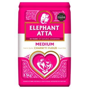 Elephant Atta Chapatti Flour Medium 1.5kg