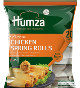 Humza Chicken Spring Roll 650g