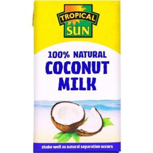 Tropical Sun 100% Natural Coconut Milk 1L