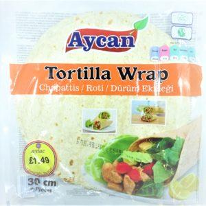 Aycan Tortilla Wraps 30cm 6pcs