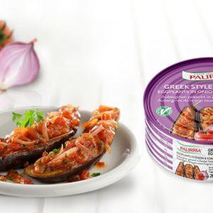 "Palirria Greek Style Eggplants, Auberginen in Tomatensauce ""Imam"" 280g"