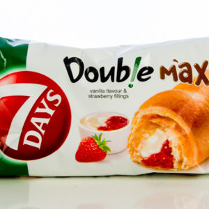 7days Croissant Double Max Vanilla & Strawberry 80g