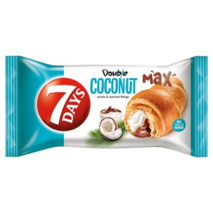7days Croissant Double Max Cocoa & Coconut 80g