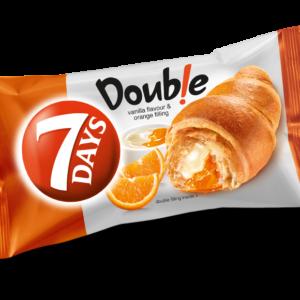 7days Croissant Double Max Vanilla & Orange 80g