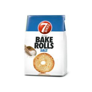 7days Bake Rolls Salt 80g