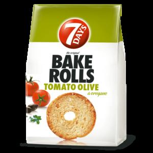 7days Bake Rolls Tomato Olive & Oregano 80g