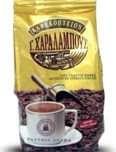 G. Charalambous Gold Mocca Blend %100 Pure Coffee 500g