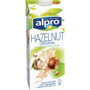 Alpro Hazelnut Original Smooth & Creamy Taste 1Lt