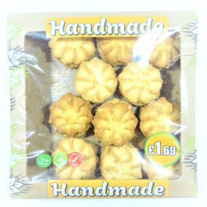 Nature Brake Handmade Cookies with Scallop & Toffi 300g
