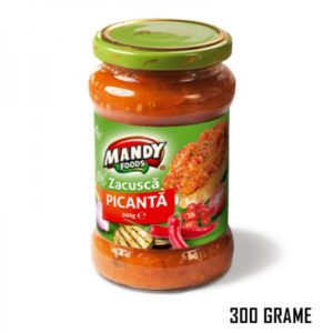 Mandy Eggplants In Hot Sauce 300g