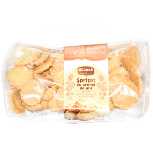 Accasa Butter Flavoured Spritz Cookies 300g