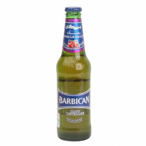 Barbican Malt Beverage Non Alcoholic Pomegranate Flavour 330ml