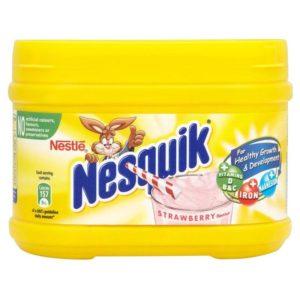 Nestle Nesquik Strawberry Flavour 300g