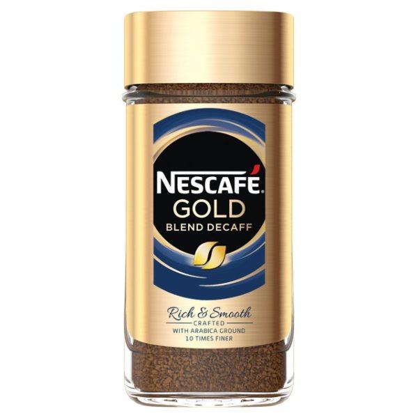 Nescafe Gold Blend Decaff Coffee 100g