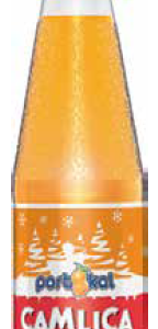 Camlica Orange Flavoured Soft Drink Glass Bottle 250ML