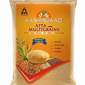 Aashirvaad Atta with Multigrain Whole Wheat Flour 5kg